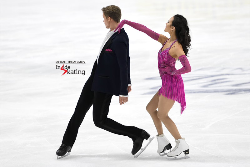 Challenger (6) - Finlandia Trophy. Oct 11 - 13, 2019. Espoo /FIN      - Страница 15 Madison-Chock-and-Evan-Bates-RD-2019-Finlandia-Trophy-1
