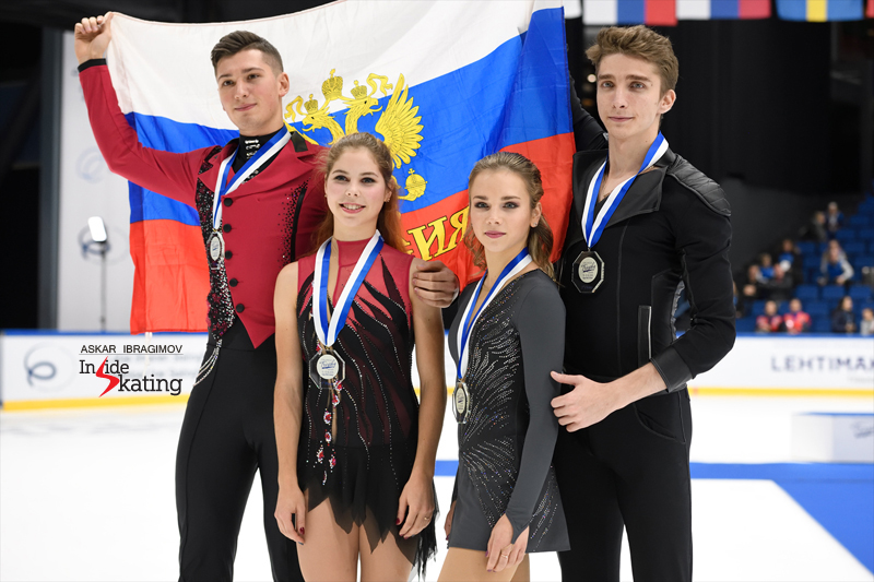 Challenger (6) - Finlandia Trophy. Oct 11 - 13, 2019. Espoo /FIN      - Страница 15 Russian-pairs-take-gold-and-silver-at-2019-Finlandia-Trophy