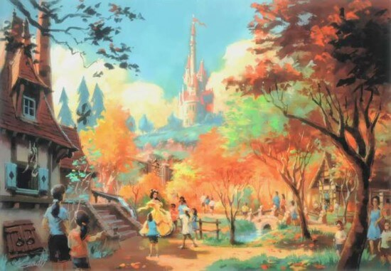 [Magic Kingdom] New Fantasyland - The Forest: Beauty and the Beast, The Little Mermaid (06 décembre 2012), 7 Dwarfs Mine Train (28 mai 2014) Fantasyland-rendering4-550x381