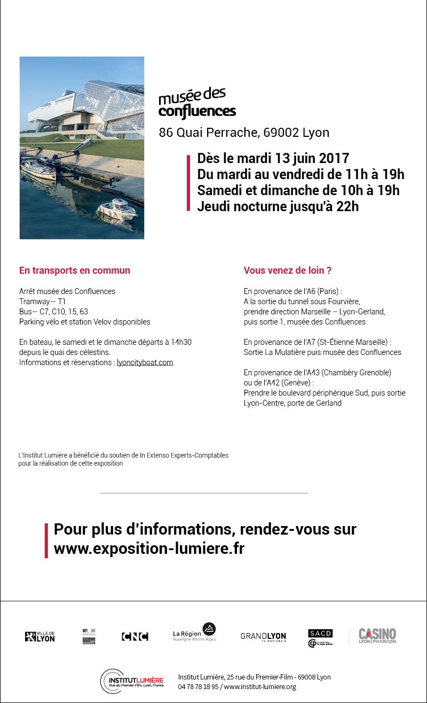 L'exposition Lumière, le cinéma inventé au Musée des confluences du 13 juin au 25 février Visuel3-2