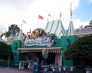 visite du Disney world magic Kingdom Exterior