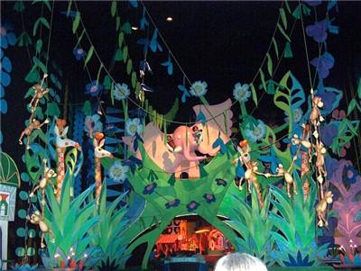 visite du Disney world magic Kingdom Iasw_interior