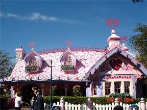 visite du Disney world magic Kingdom MinnieHouse
