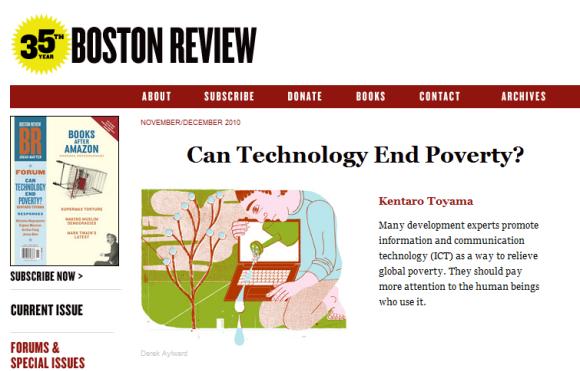 La technologie peut elle éliminer la pauvreté Cantechnologyendpoverty