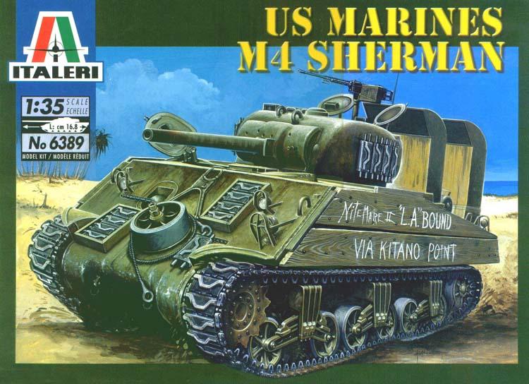 US Marines M4 Sherman (Italieri - 1/35) ITALERI_M4-Box