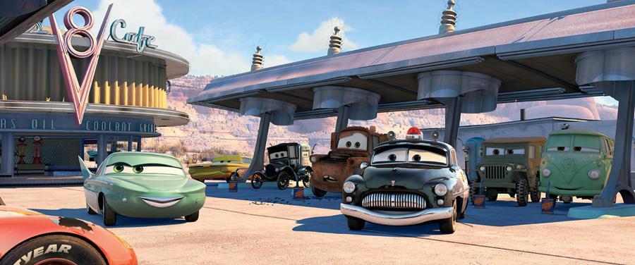 Cars - Quatre Roues [Pixar - 2006] Cars_32