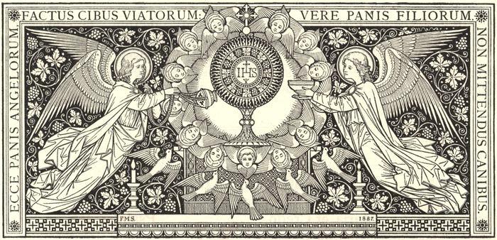 BEAUTÉS DE L'ÉGLISE CATHOLIQUE: SON CULTE, SES MOEURS ET SES USAGES; SUR LES FÊTES CHRÉTIENNES - Allemagne - 1857 Fete_dieu003