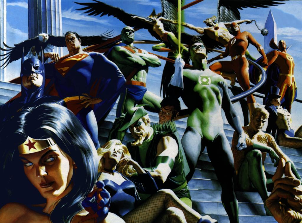 Graphic novels Classic_JLA_by_Alex_Ross