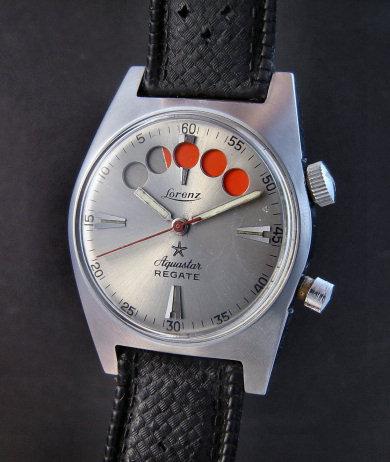 Ma montre d'avant hier ! Aquastar