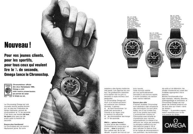 Omega Mexico Chronostop PubOmega1967