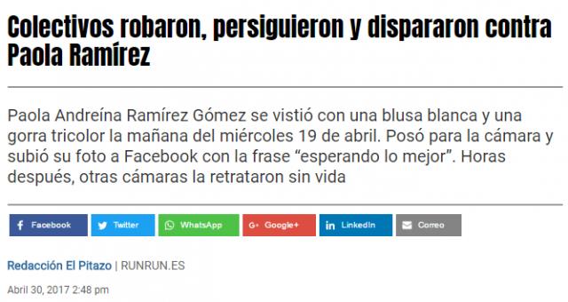 Venezuela: coup de projecteur sur les zones d´ombre médiatiques Elpitazo_0-640x340