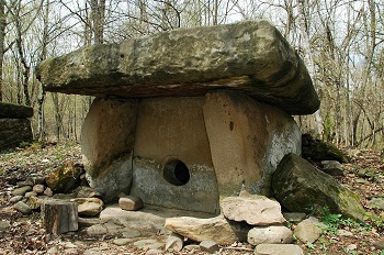 Caucasian Dolmens. The history of people.  122