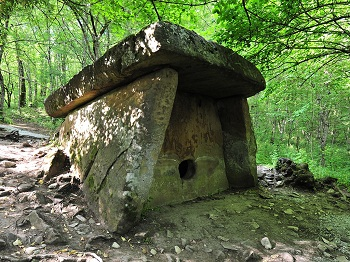 Caucasian Dolmens. The history of people.  142