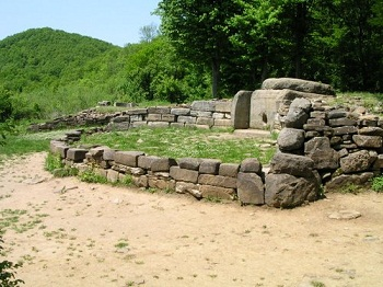 Caucasian Dolmens. The history of people.  72