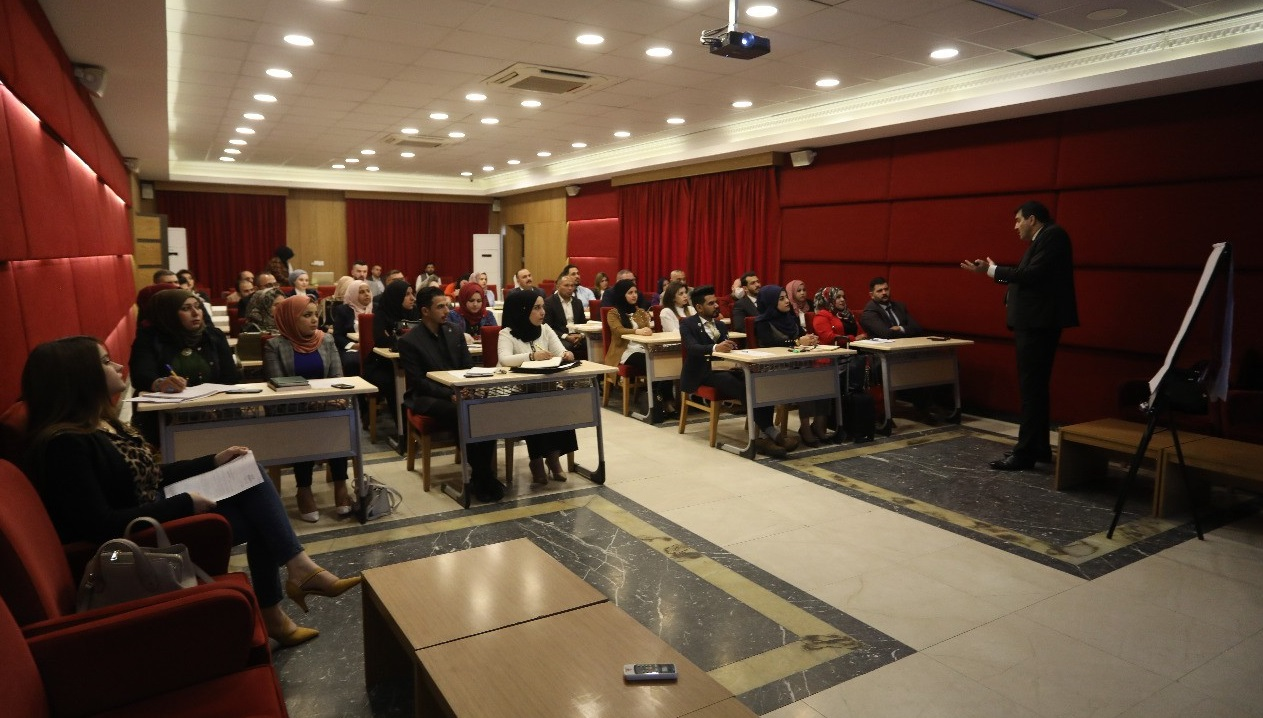 """Iraqi Private Banking Association holds a course on """"Banking Sensitivity"""" 728"""