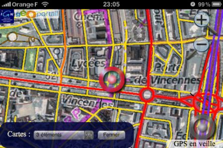 Geoportail sur iphone .geoportail-iphone-2_m