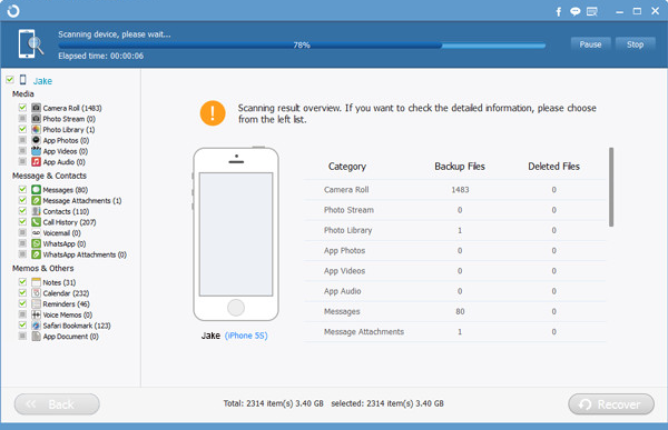 The Best solution to Restore Lost or Deleted Data for iPhone/ iPad/ iPod on Mac 58dc82fab0f9f