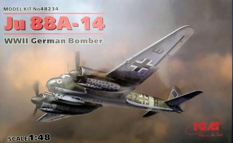Luftwaffe 46 et autres projets de l'axe à toutes les échelles(Bf 109 G10 erla luft46). - Page 24 ICM-Ju88_A-14_01