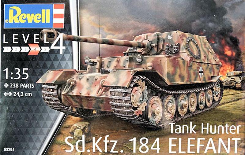 wehrmacht 46 en maquette Revell-Elefant_01