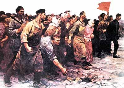 Los comunistas también tenemos superhéroes Revolucion-rusa