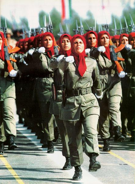 soldates du monde en photos WomenNLA