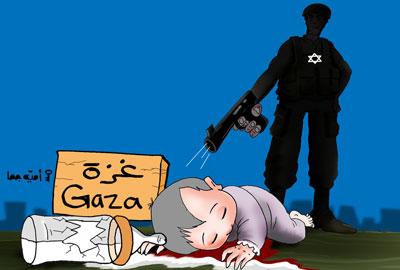 كاريكاتر فلسطيني.... Omayya_Joha_Palestine13