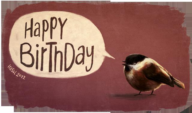 Hermine burzelt Spatz_happy-birthday3