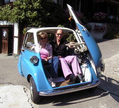 اغرب السيارات Isetta-mini