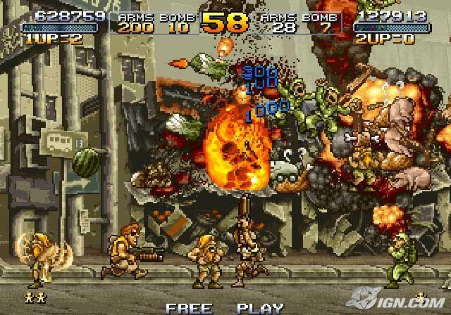 [nostalgia] recordando los juegos que marcaron nuestra infancia :') Metal-slug