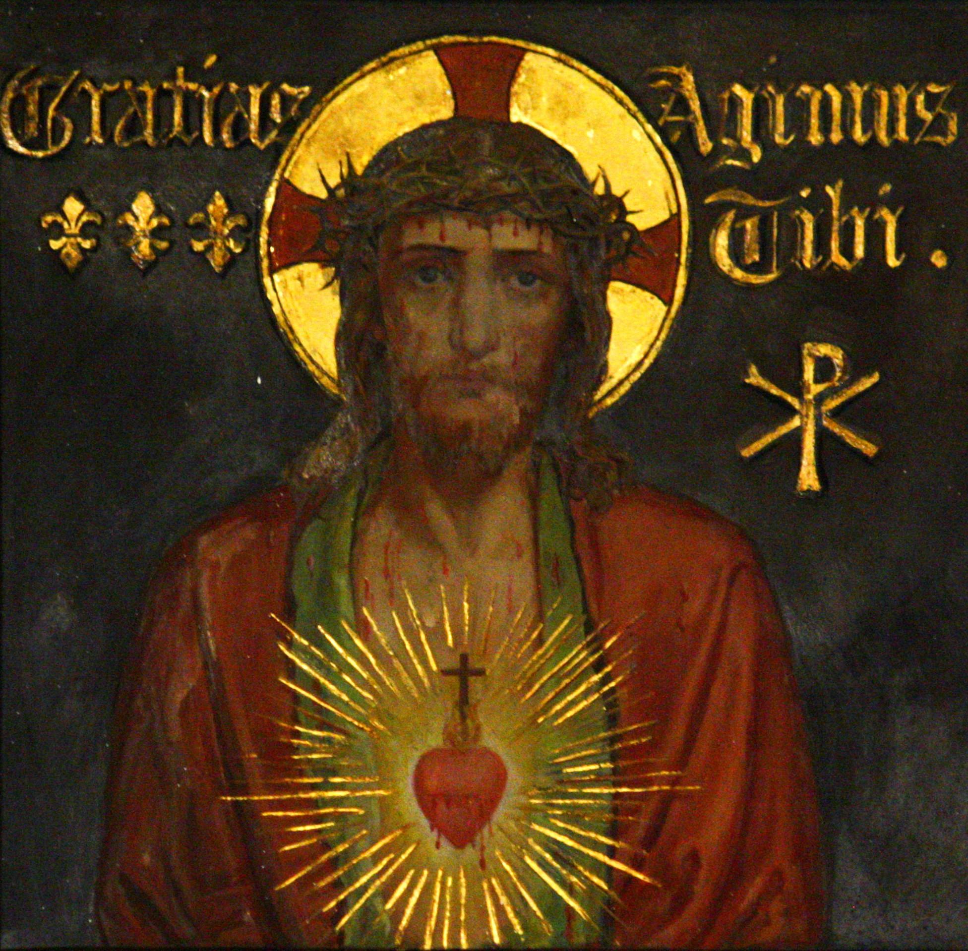 Au Coeur du sujet BSI : 1° SYMBOLIQUE DU  LIERRE - Page 2 Sacre_coeur_jesus