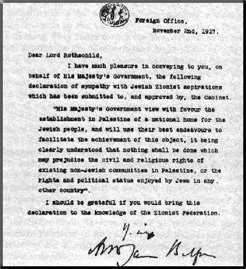 pour - Al-Nakba : l'histoire d'une dépossession Declaration_Balfour-786ad
