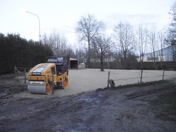 Aménagement de mon paddock hors boue. Solution trouvée pour cet hiver !! 5
