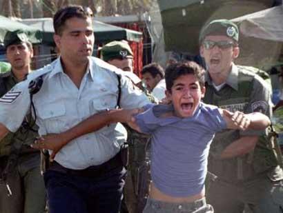 """""""Mauvais traitement"""" des enfants palestiniens en détention par Israel Boyarrested%20copy"""