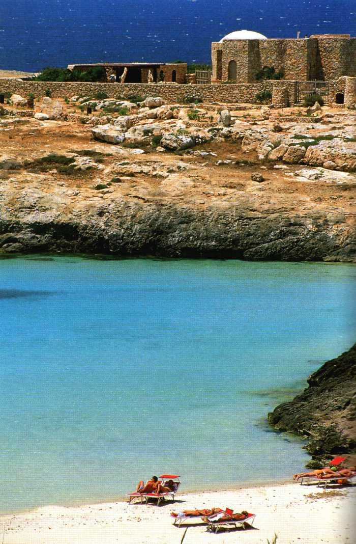 ragazzi mi assento Lampedusa