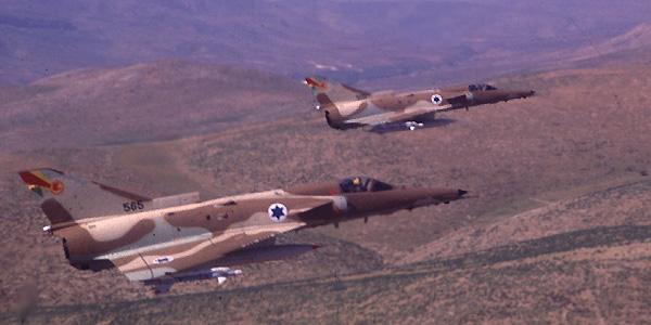 الطائرة الاسرائيليه ( الكافير ) Kfir4