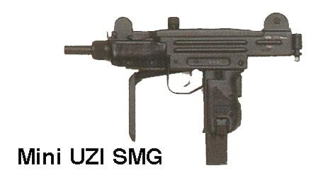Armement Léger des Forces Spéciales Françaises. Uzimini_b