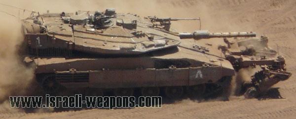 الصناعات الحربية الاسرائيلية Merkava__4