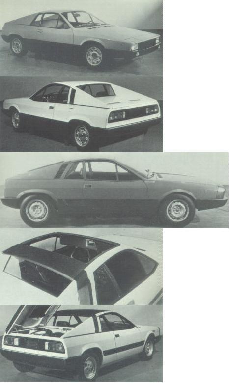 1975 Abarth X-19 Prototipo Replika Lancia-beta-montecarlo-proto