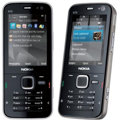 سجل حضروك بجوال Nokia-n78-phone