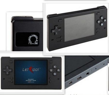 La LetCool N350JP Letcool-350JP-Portable-Gaming-Device-Media-Player