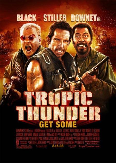 فيلم Tropic Thunder [2008] DvDrip-aXXo للتحميل المباشر Tropic-thunder-poster