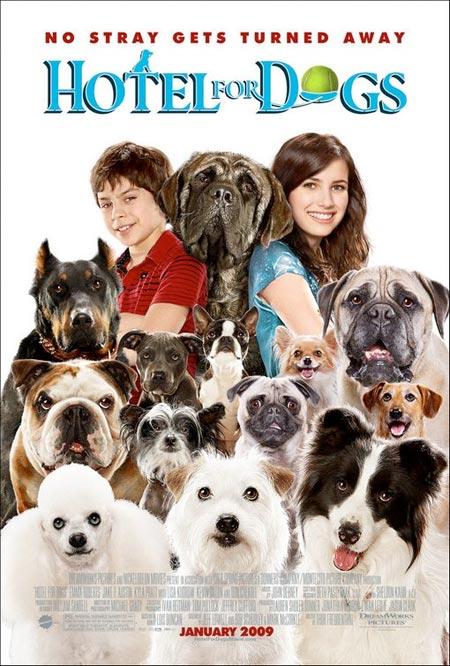 فيلم Hotel for Dogs DVDRip XviD-NeDiVx للتحميل المباشر Hotel-for-dogs-poster