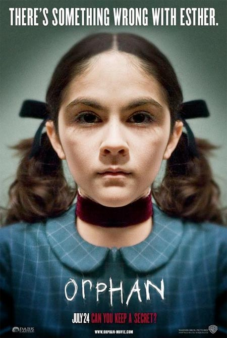What did you think of the last movie you watched? - Page 3 Orphan-poster