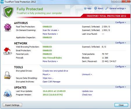 TrustPort выпускает новую линейку антивирусных продуктов 2012 Trustport