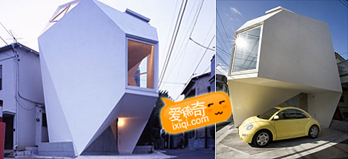 一款超级可爱的日本小户型住宅设计 20100320_house_0