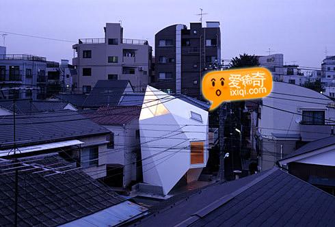 一款超级可爱的日本小户型住宅设计 20100320_house_1