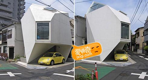 一款超级可爱的日本小户型住宅设计 20100320_house_12