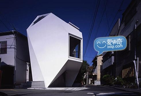 一款超级可爱的日本小户型住宅设计 20100320_house_3