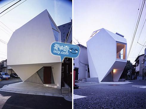 一款超级可爱的日本小户型住宅设计 20100320_house_4