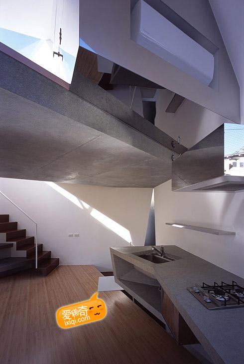 一款超级可爱的日本小户型住宅设计 20100320_house_7